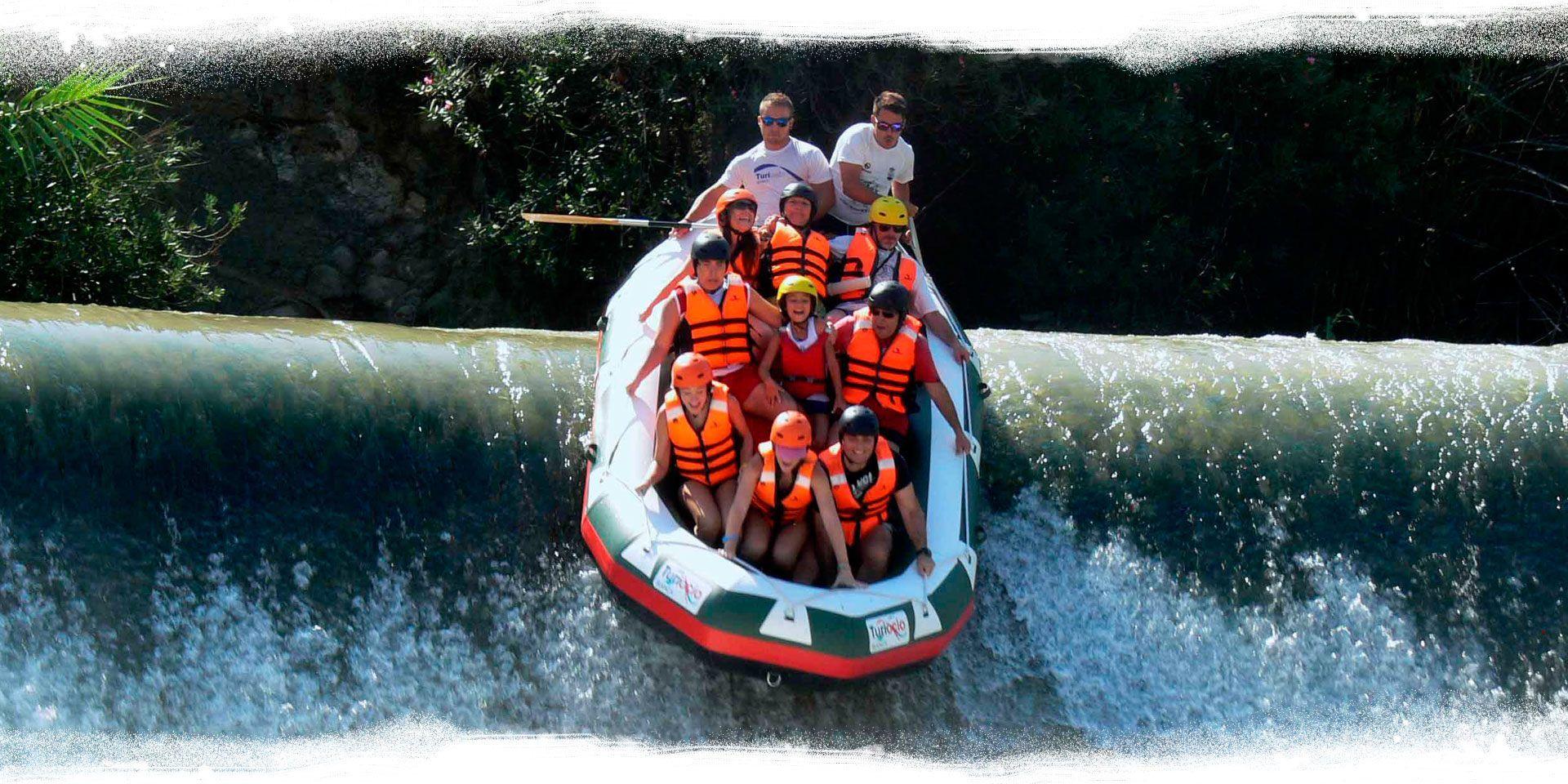 Rafting en Murcia Descenso y bajada del rio segura