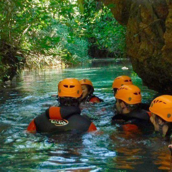 Rafting + Barranquismo + Ferrata + Paella